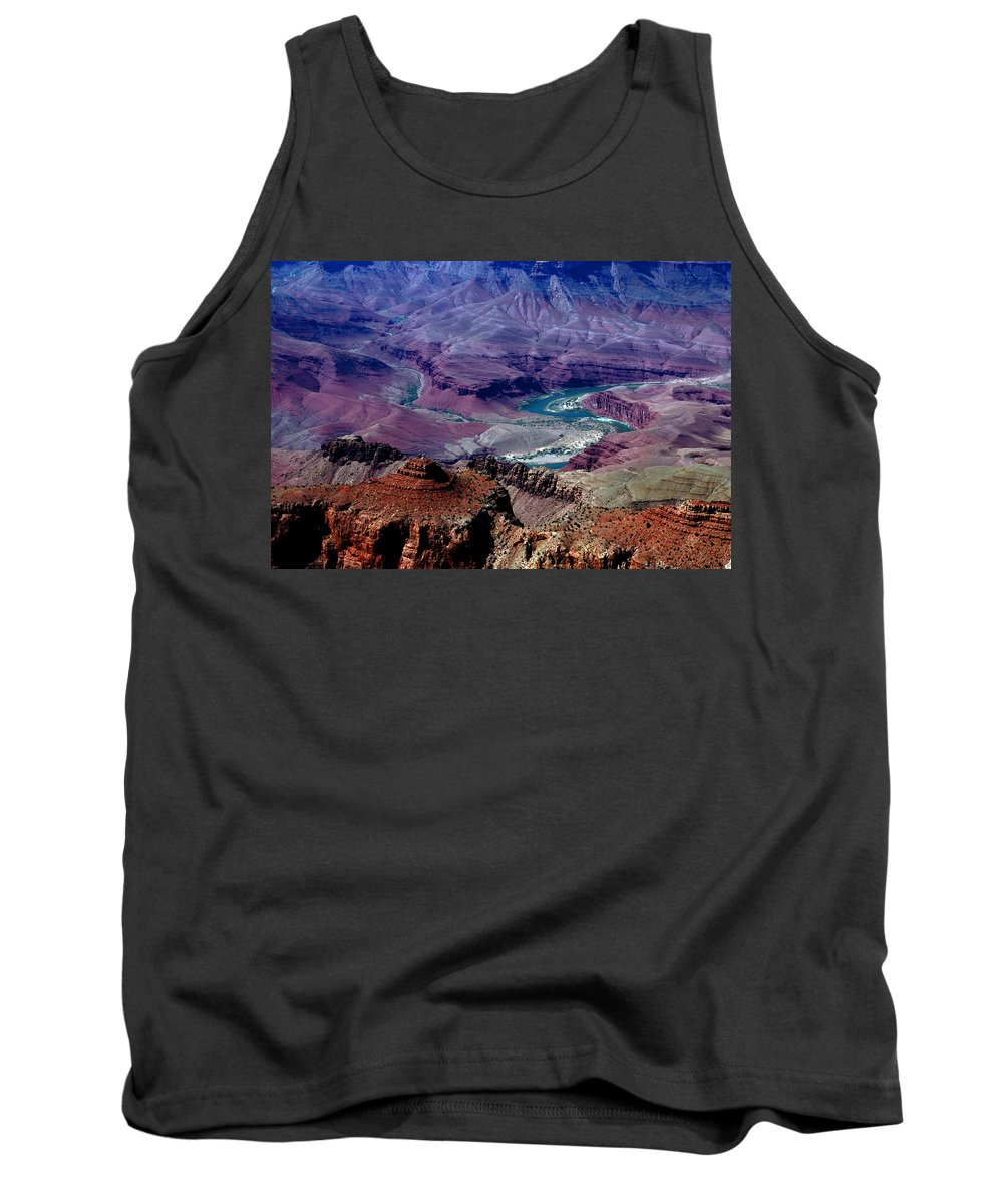 Photography Tank Top featuring the photograph The Grand Canyon by Susanne Van Hulst