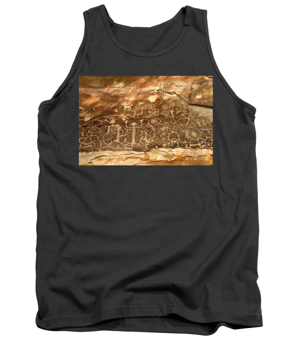 Anasazi Tank Top featuring the photograph The Great Panel by David Lee Thompson