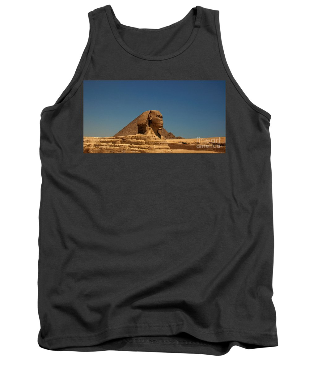 Africa Tank Top featuring the photograph The Great Sphinx Of Giza 2 by Joe Ng