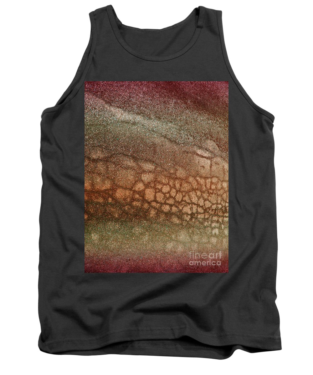Macro Tank Top featuring the photograph The Ground At My Feet by Tara Turner