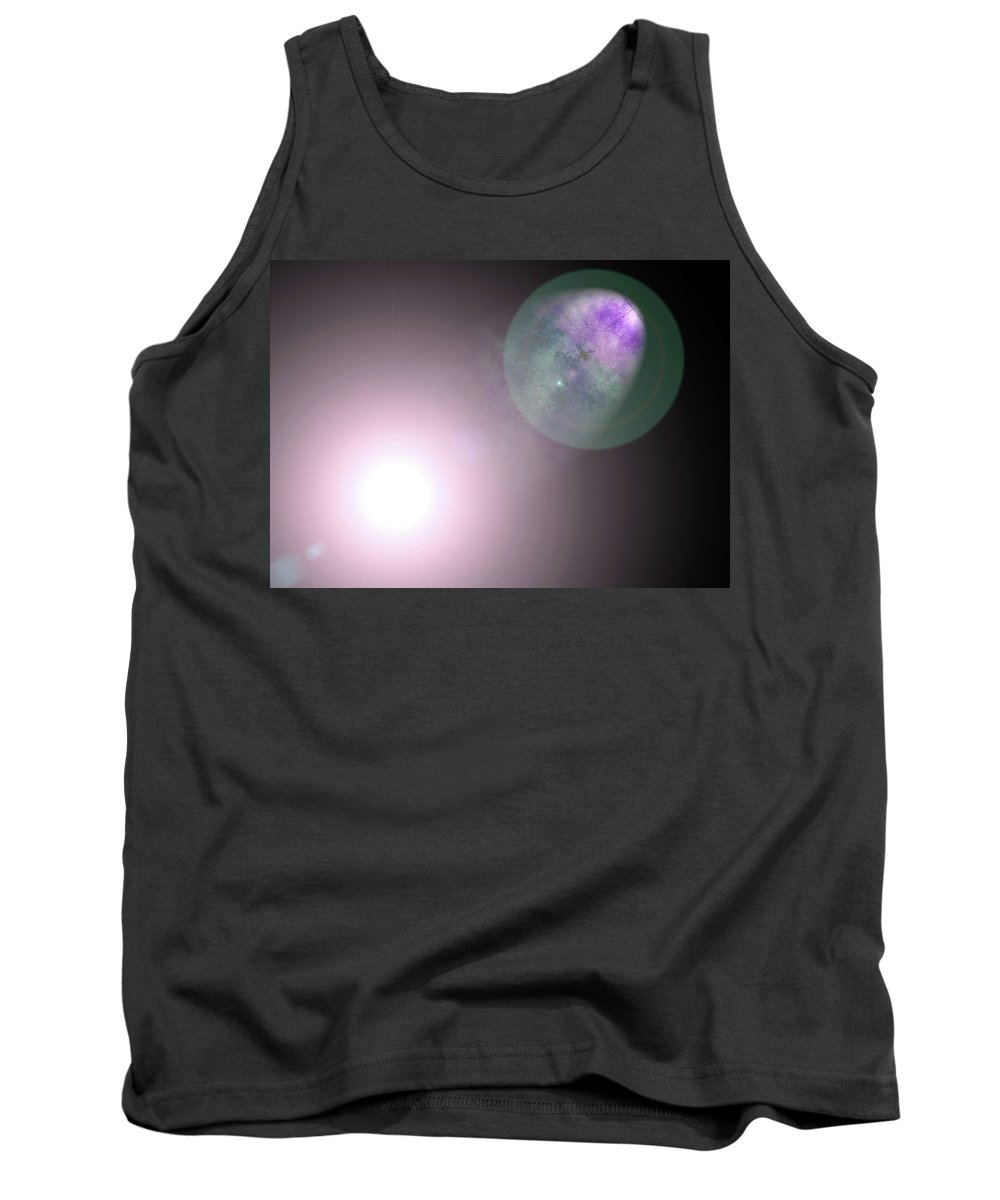 Digital Tank Top featuring the painting The Heavens 2 The Preeminence Of Christ by Pastor Matthew Brown