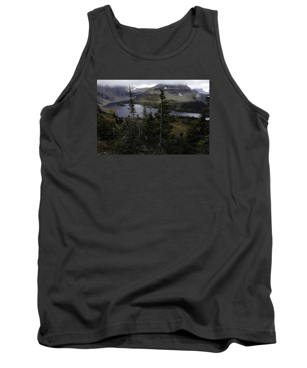 Wyoming Tank Top featuring the photograph The Hidden Lake by Michael J Samuels