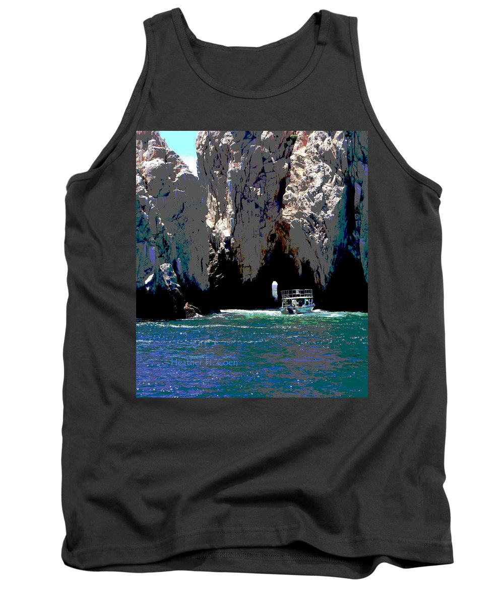 Mexico Tank Top featuring the photograph The Keyhole Mexico Cabo San Lucas by Heather Coen