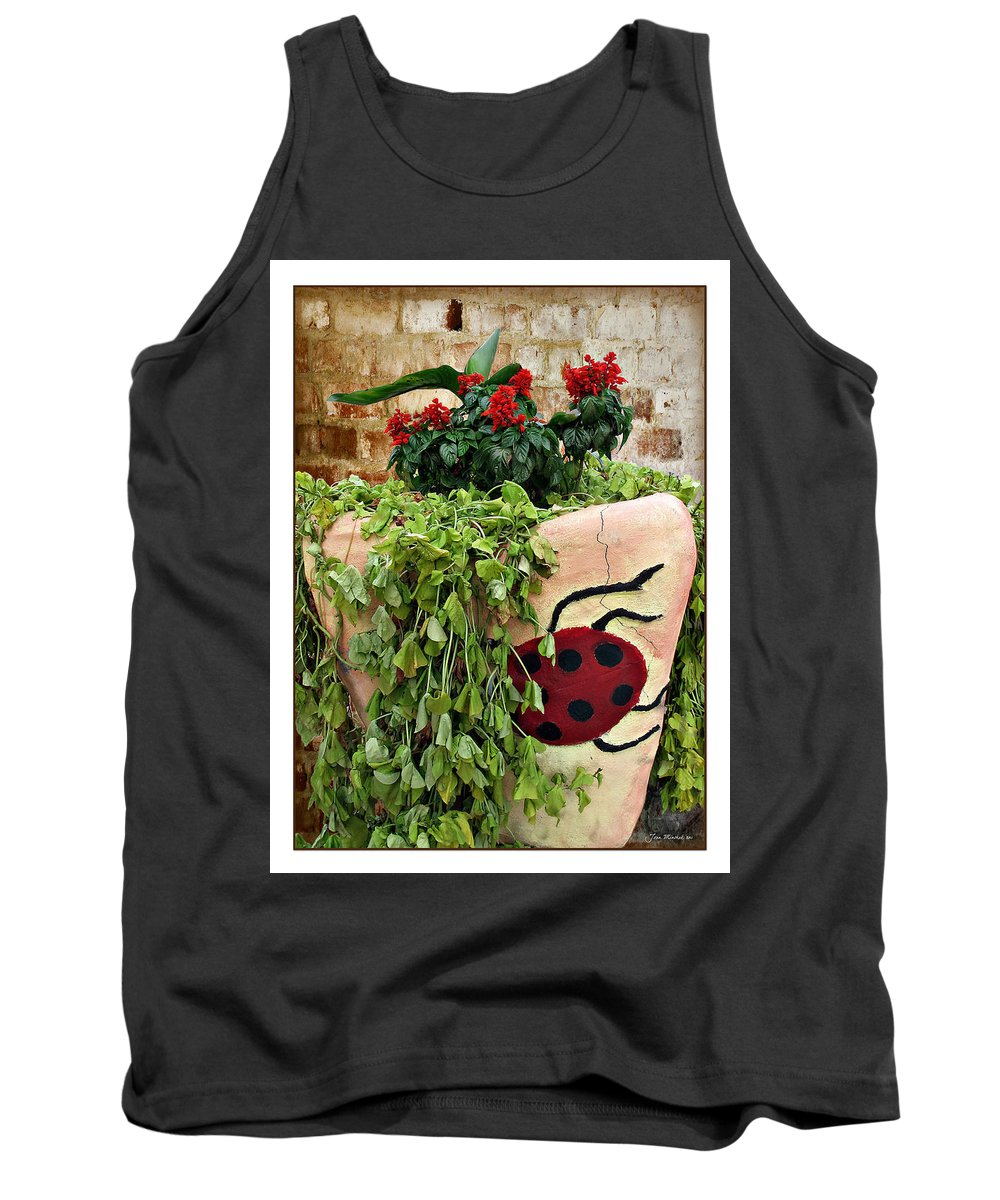 Ladybug Tank Top featuring the photograph the Ladybug by Joan Minchak