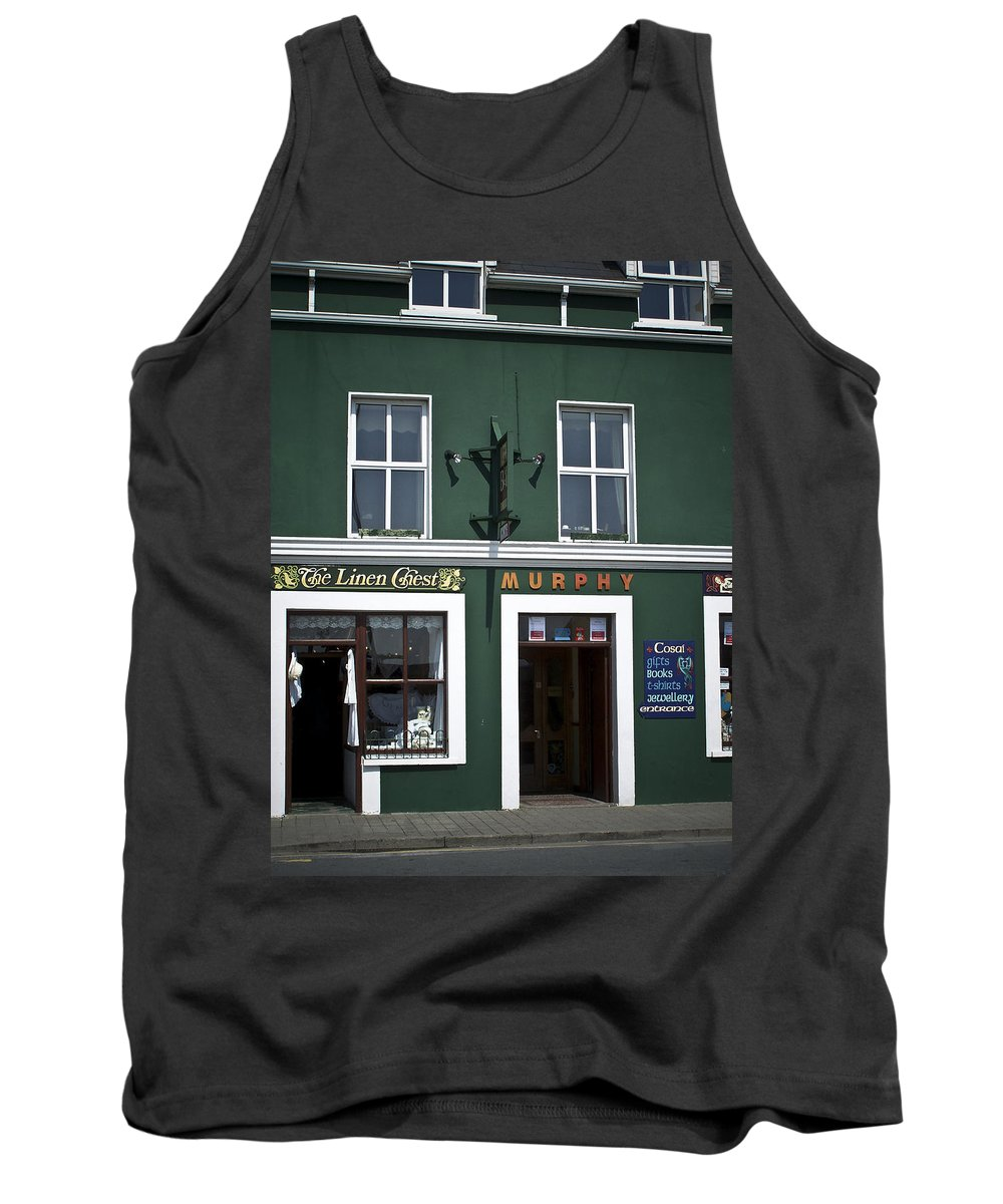 Irish Tank Top featuring the photograph The Linen Chest Dingle Ireland by Teresa Mucha