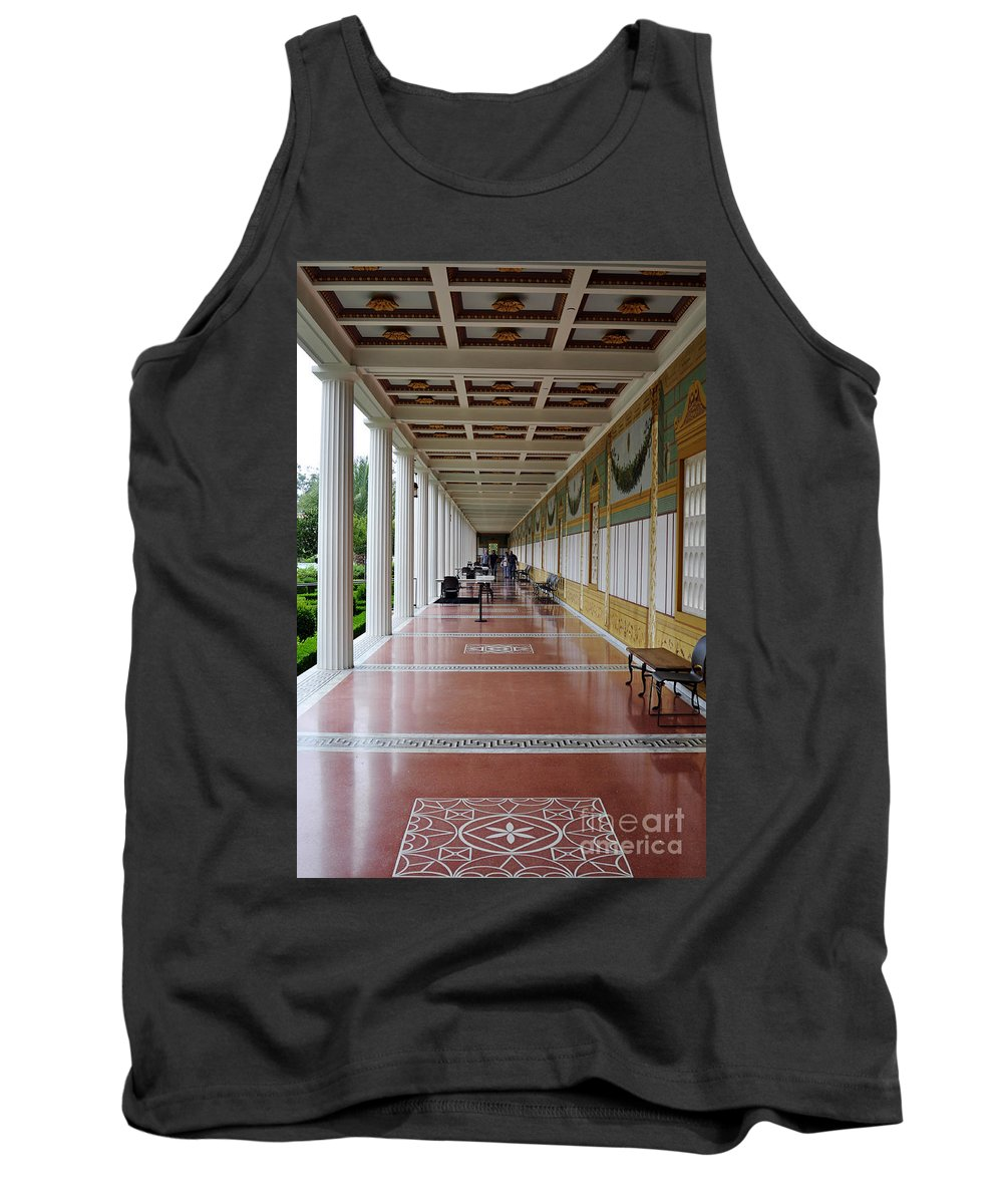 Clay Tank Top featuring the photograph The Long Walk by Clayton Bruster