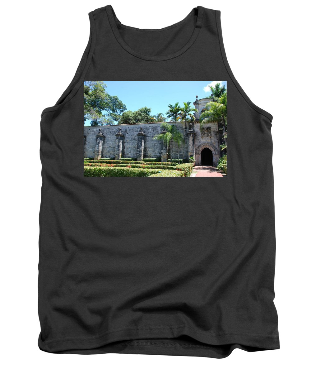 Florida Tank Top featuring the photograph The Miami Monastery by Rob Hans