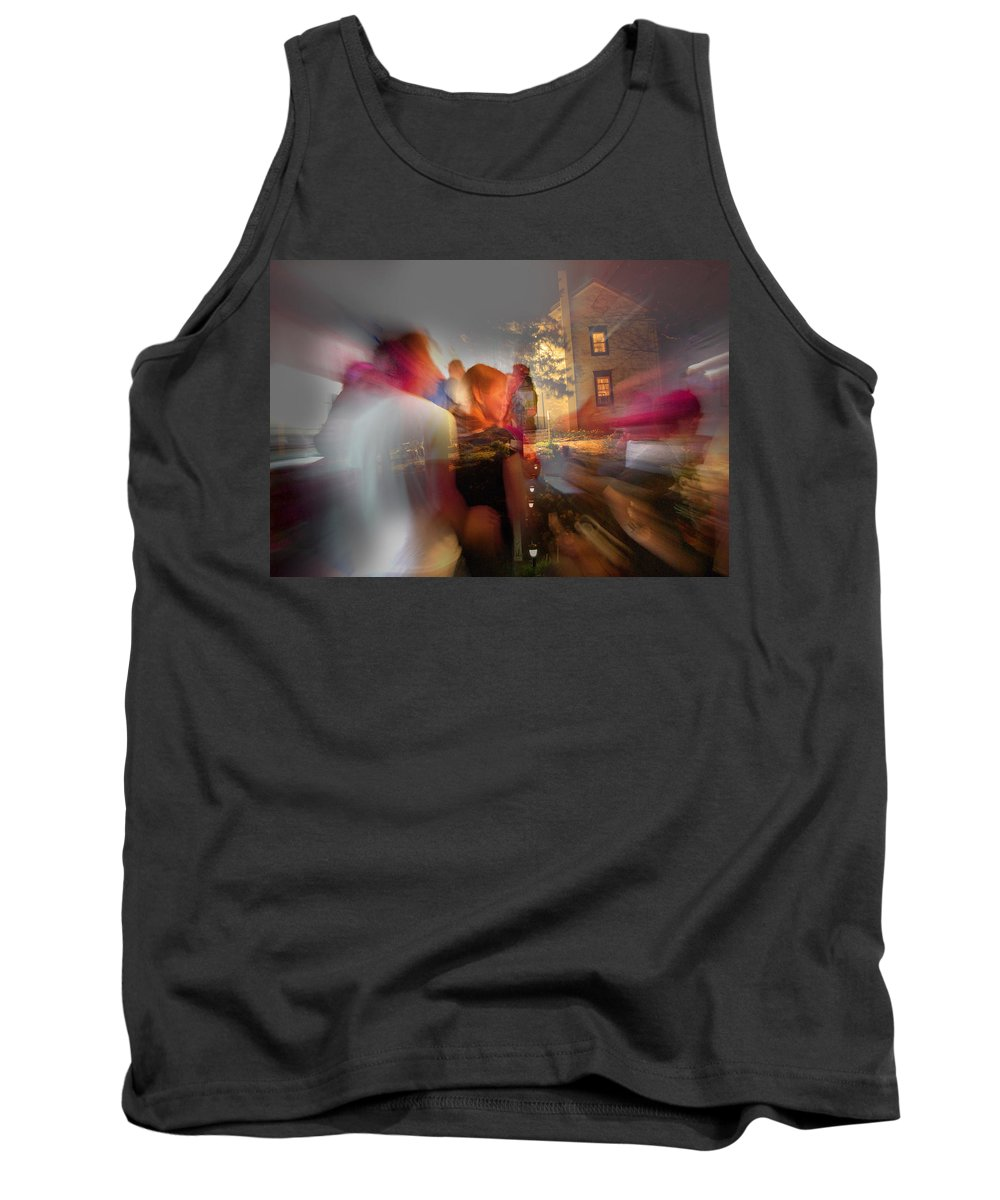 When Night Falls Tank Top featuring the photograph The Night Gerald Turned 60 by Jay Ressler