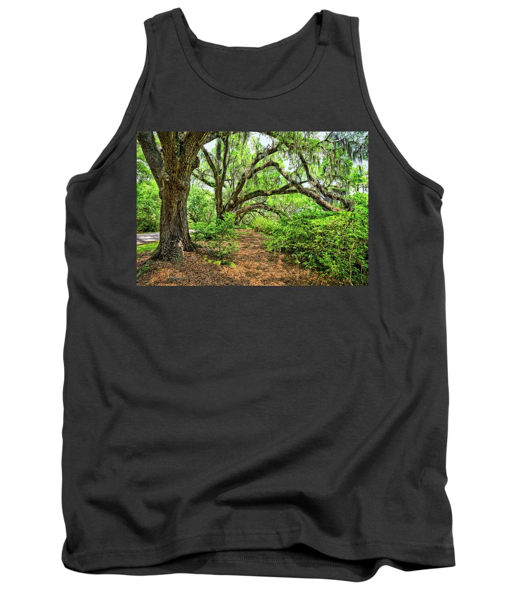 Oaks Tank Top featuring the photograph The Oaks by Susan Pantuso