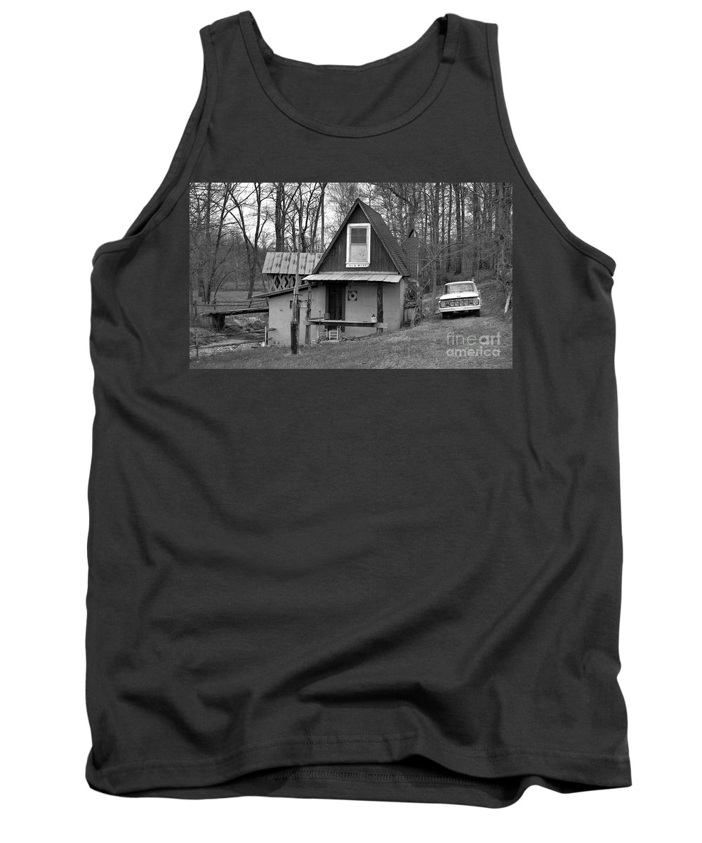Mill Tank Top featuring the photograph The Old Mill by Richard Rizzo