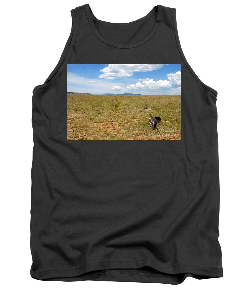 Santa Fe Trail Tank Top featuring the photograph The Old Santa Fe Trail by David Lee Thompson