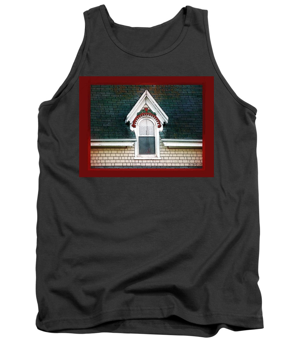 Canada Tank Top featuring the painting The Ornamented Gable by RC DeWinter