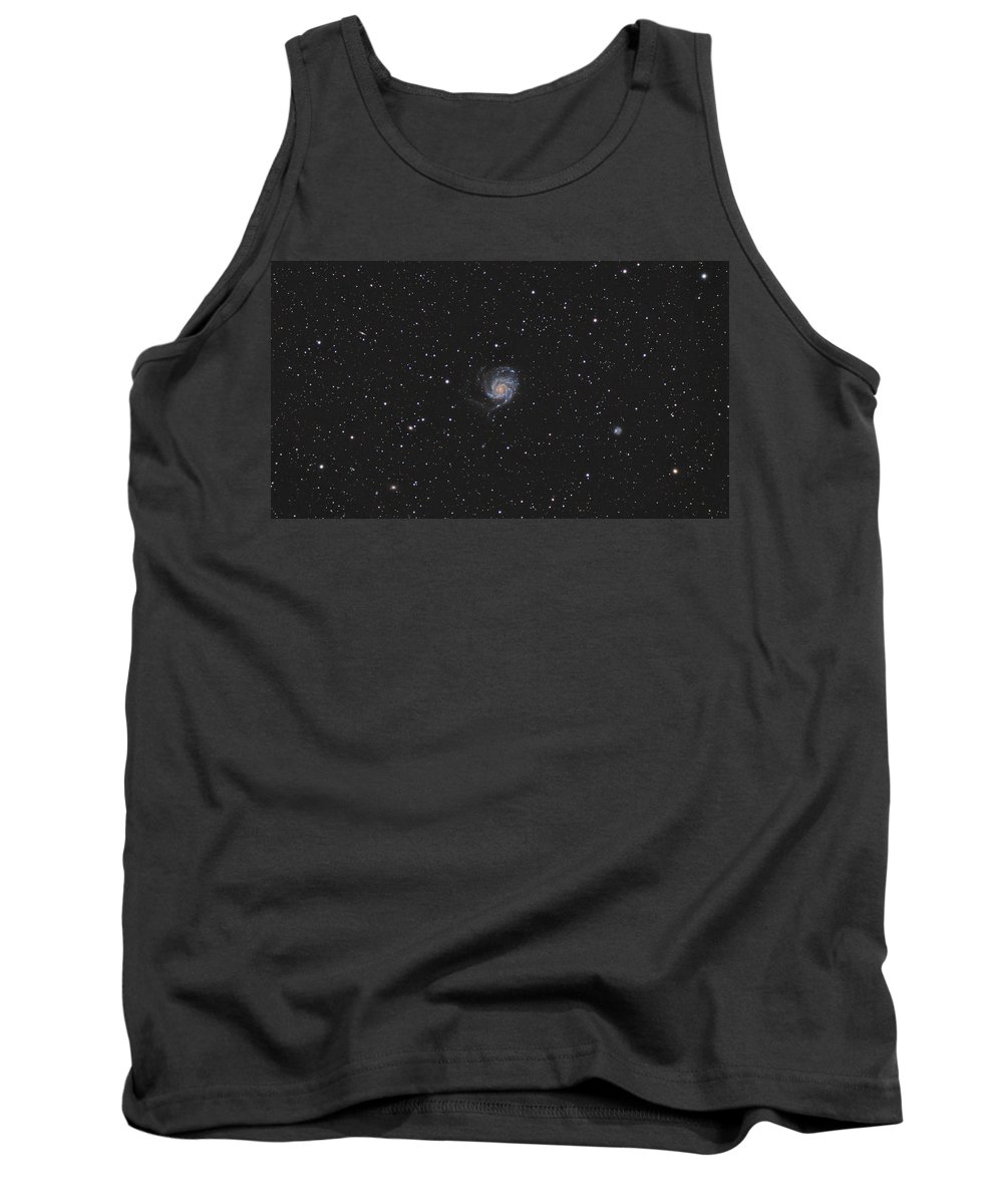 Pinwheel Tank Top featuring the photograph The Pinwheel Galaxy by Brent Newton