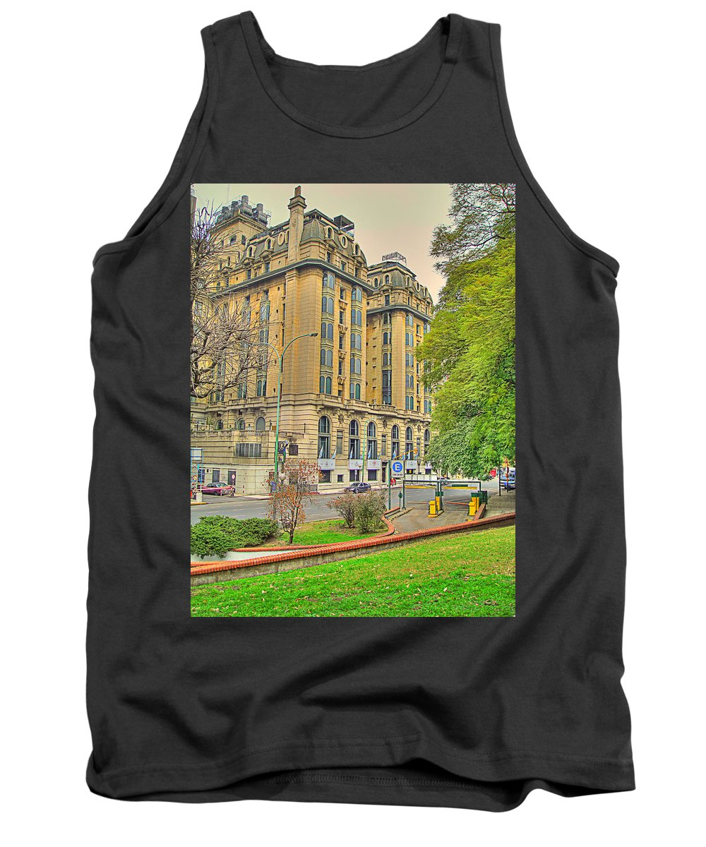 Hotel Tank Top featuring the photograph The Plaza by Francisco Colon