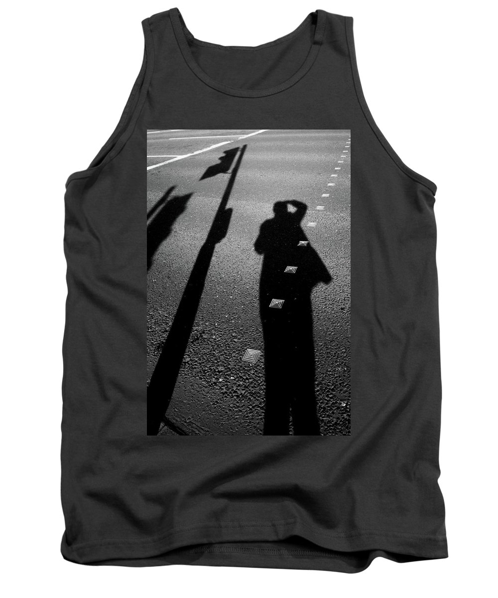 Tank Top featuring the photograph The Return Run by Jez C Self