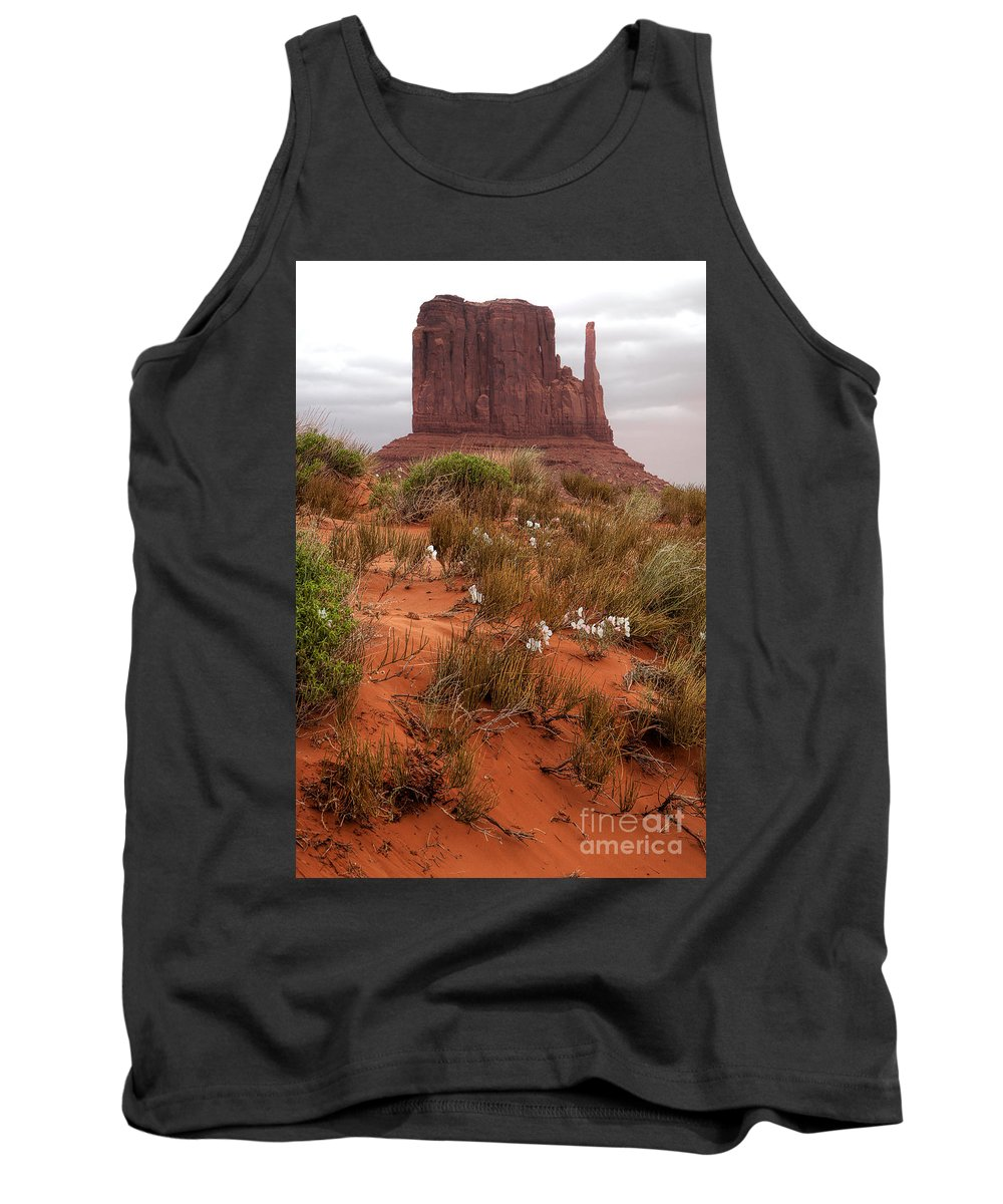 Utah Tank Top featuring the photograph The Right Hand by Jim Garrison