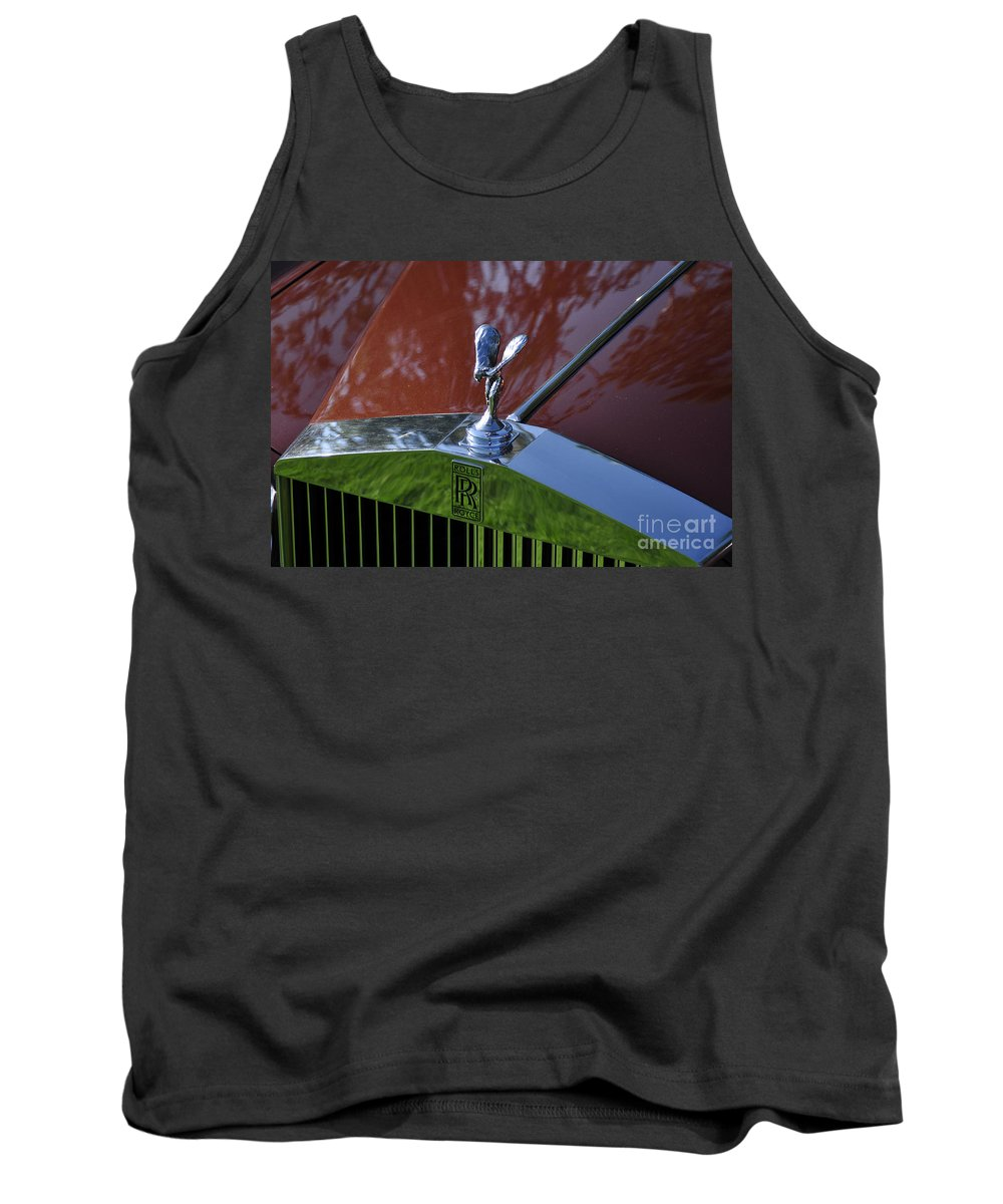 Clay Tank Top featuring the photograph The Rolls by Clayton Bruster