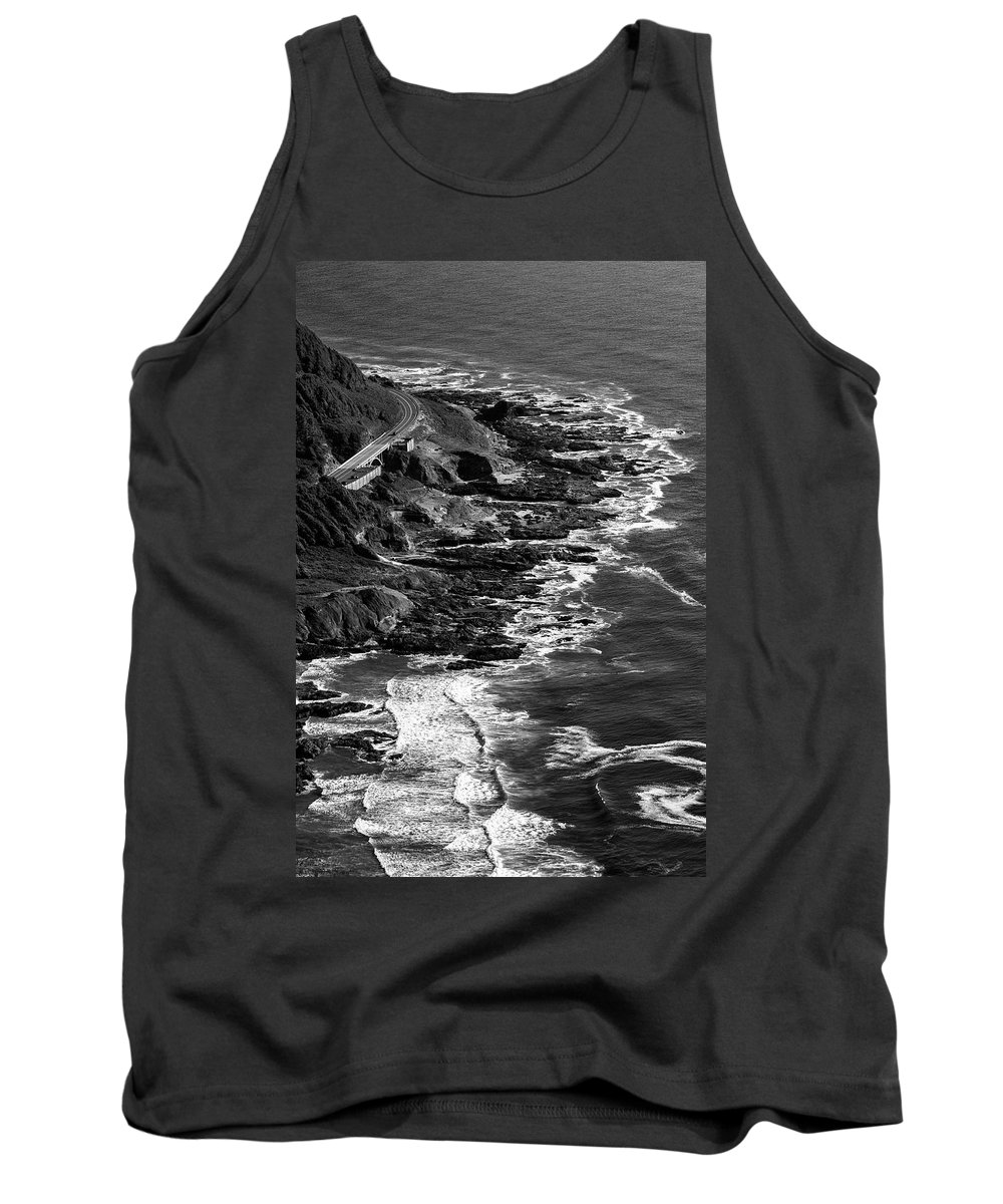 Oregon Coastline Tank Top featuring the photograph The Rugged Beauty Of The Oregon Coast - 4 by Hany J