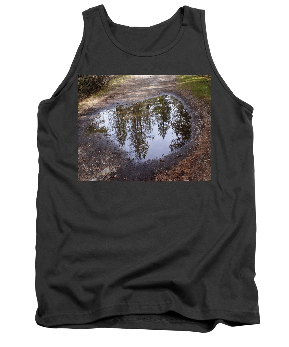 Nature Tank Top featuring the photograph The Sky Below by Ben Upham III