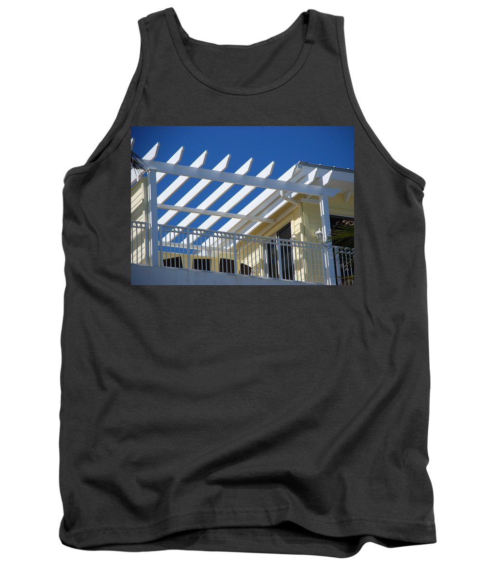 Architecture Tank Top featuring the photograph The Slots by Rob Hans