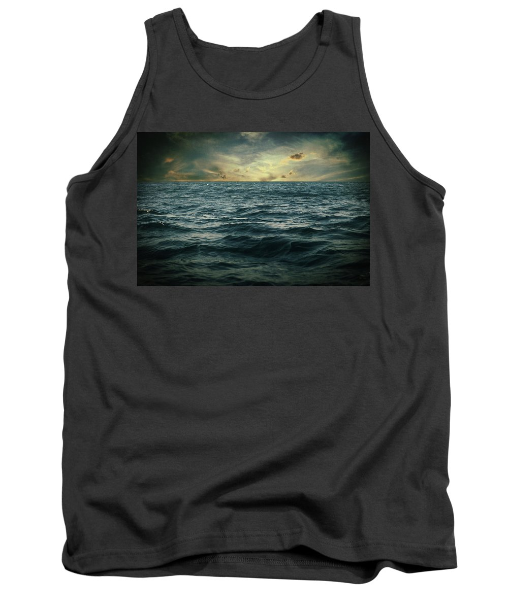 Seascape Tank Top featuring the photograph The Time I Was Daydreaming by Zapista
