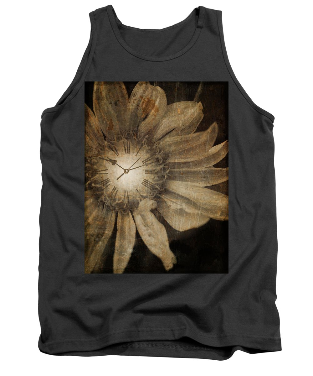 Clock Tank Top featuring the photograph The Time Keeper by Tara Turner