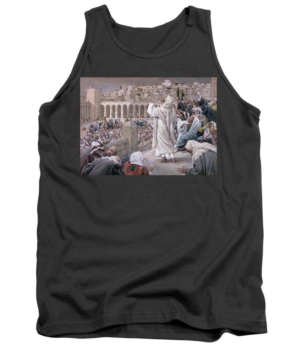 The Tank Top featuring the painting The Voice From Heaven by Tissot