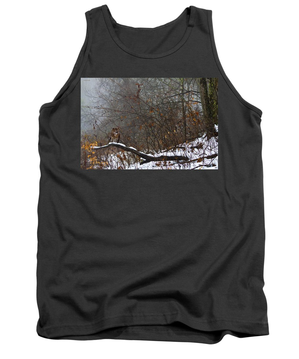 Landscape Tank Top featuring the photograph The Watcher by Ron Jones