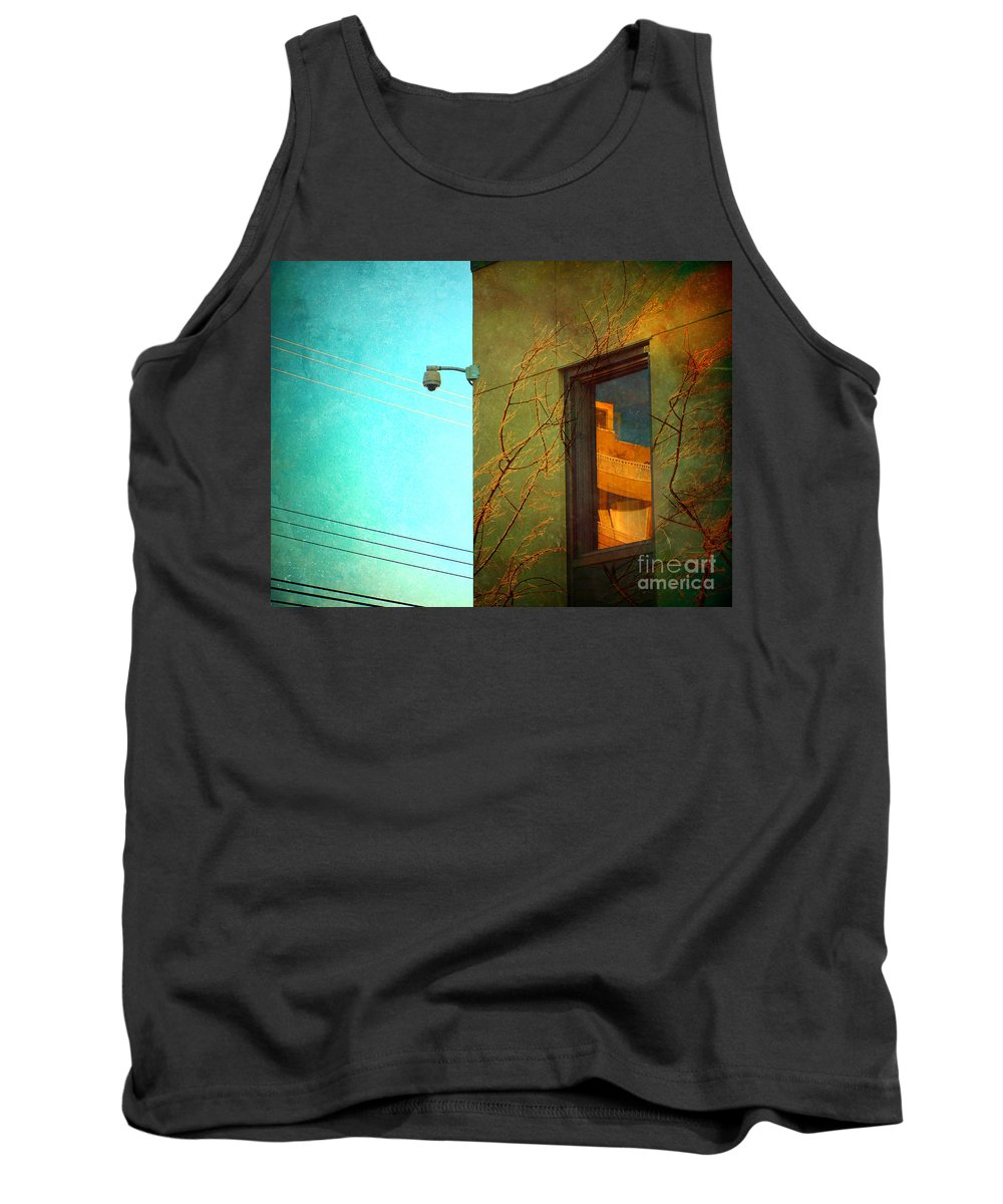 Window Tank Top featuring the photograph The Way Things Are by Tara Turner