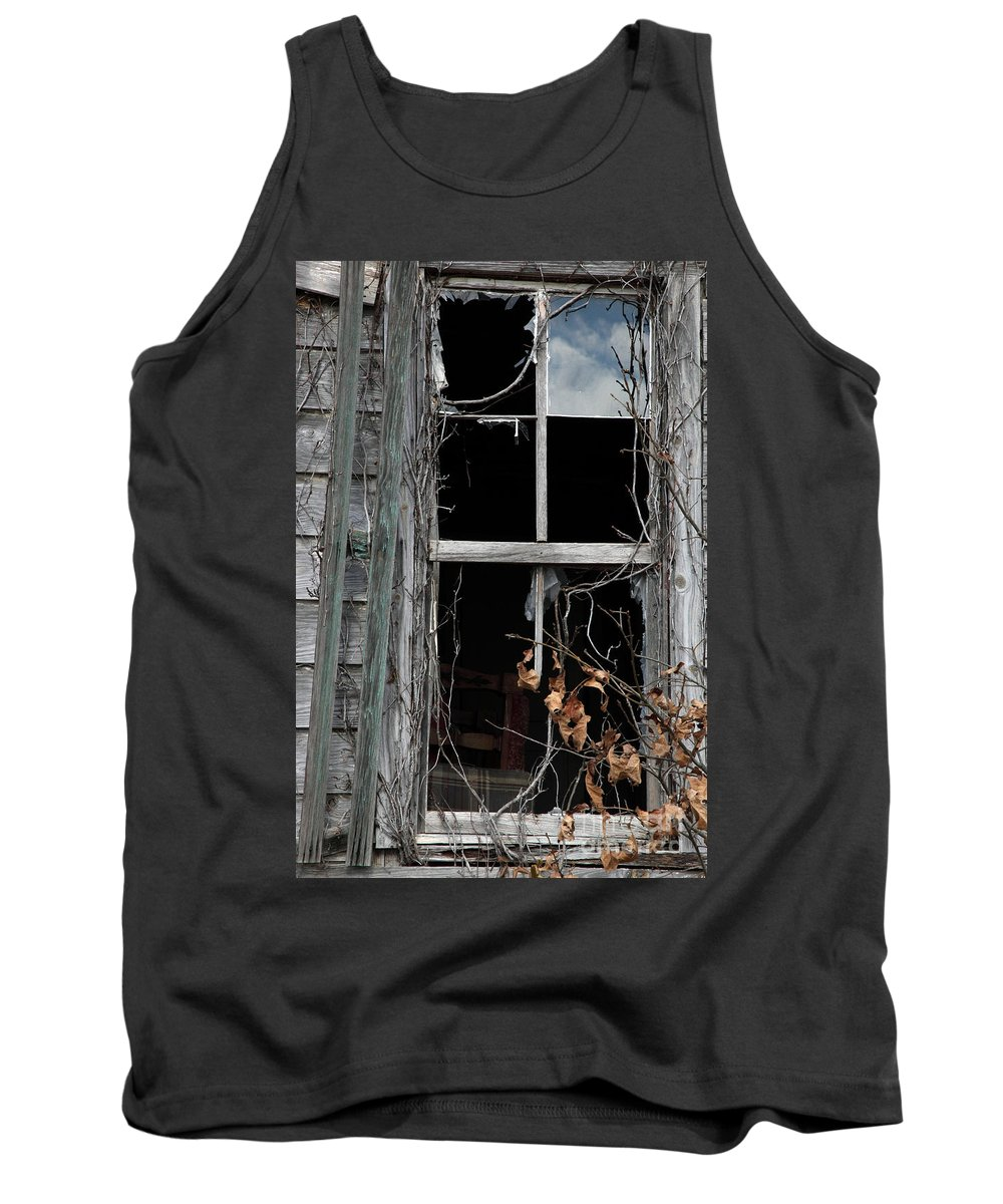 Windows Tank Top featuring the photograph The Window by Amanda Barcon