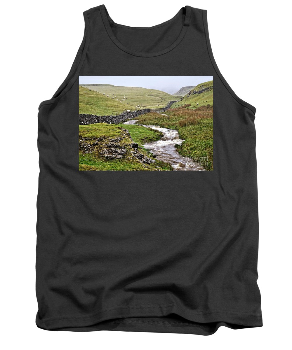 Yorkshire Dales Tank Top featuring the photograph The Yorkshire Dales by Martyn Arnold