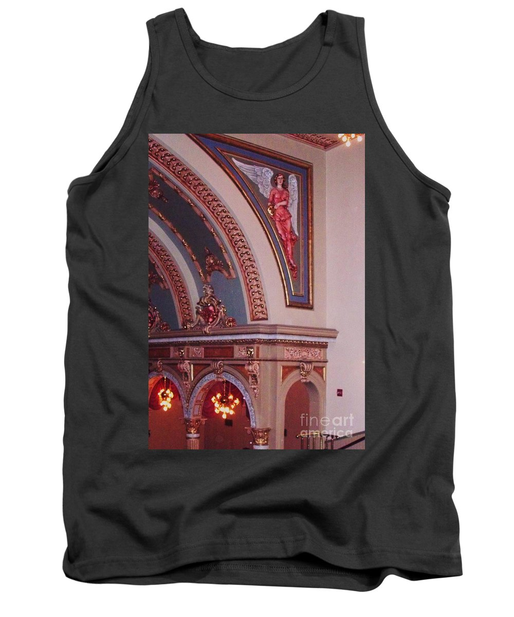 Theater Tank Top featuring the photograph Theater by Eric Schiabor