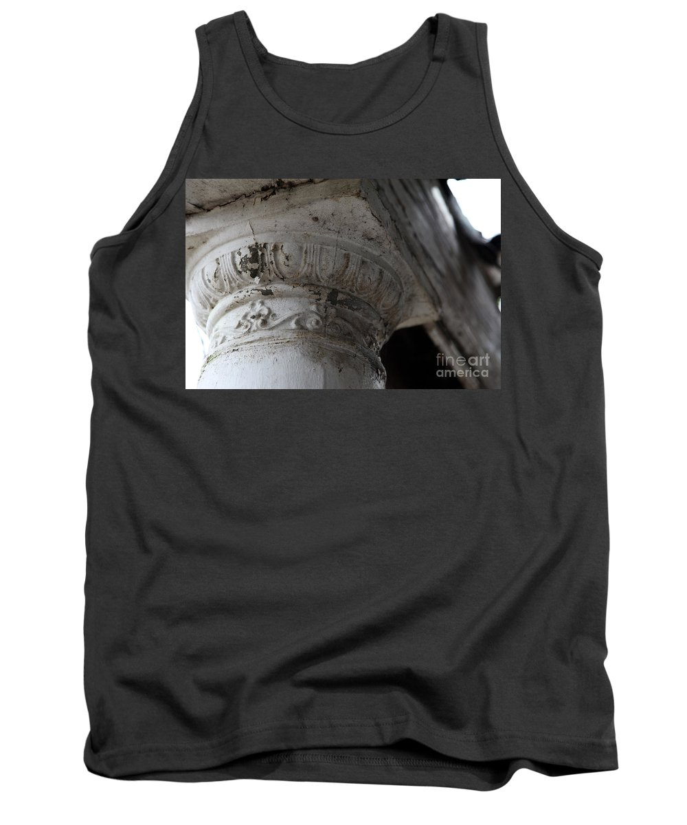Column Tank Top featuring the photograph There For You by Amanda Barcon