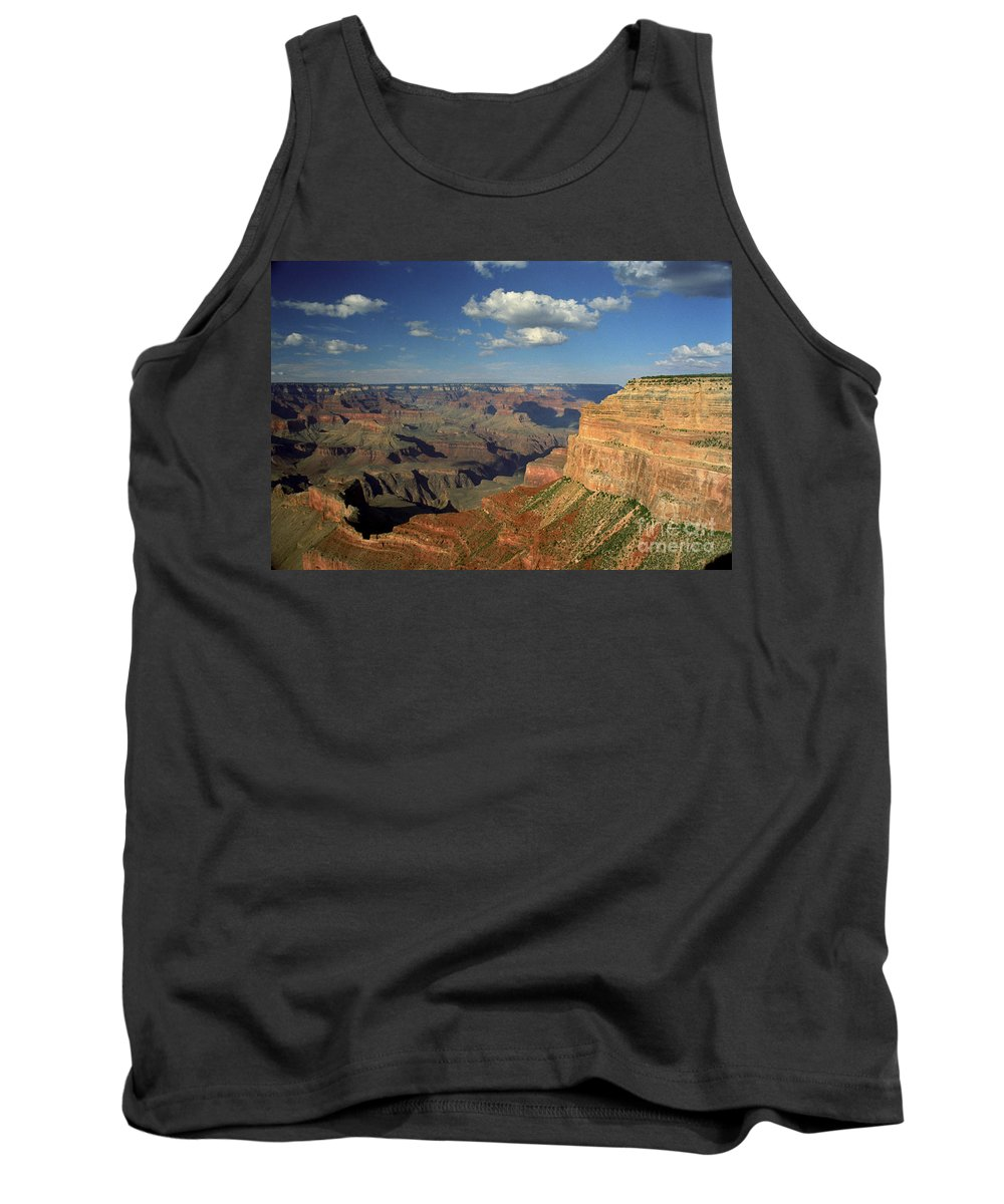 Grand Canyon Tank Top featuring the photograph This Is My Father's World by Kathy McClure