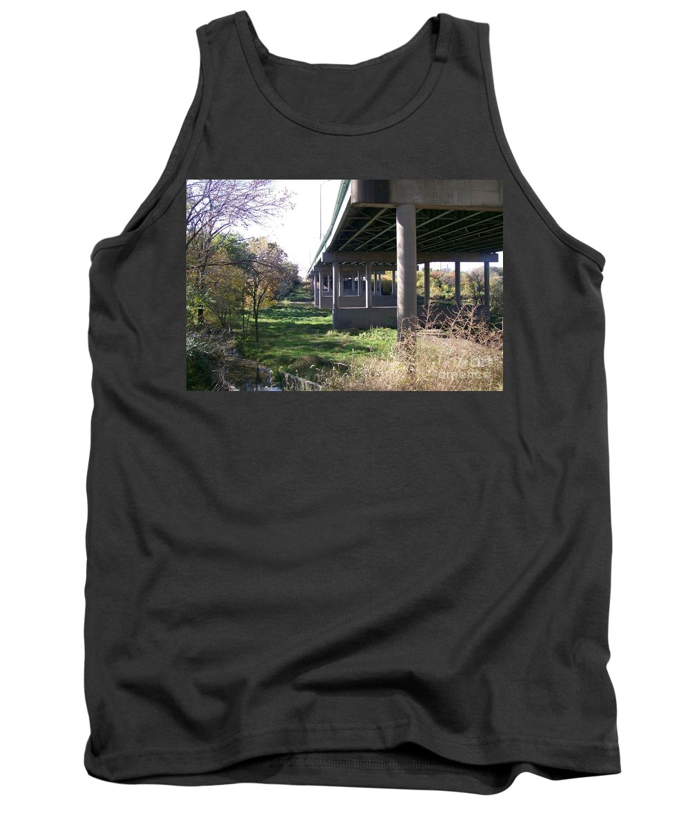 Landscape Tank Top featuring the photograph Three Pathways by Stephen King