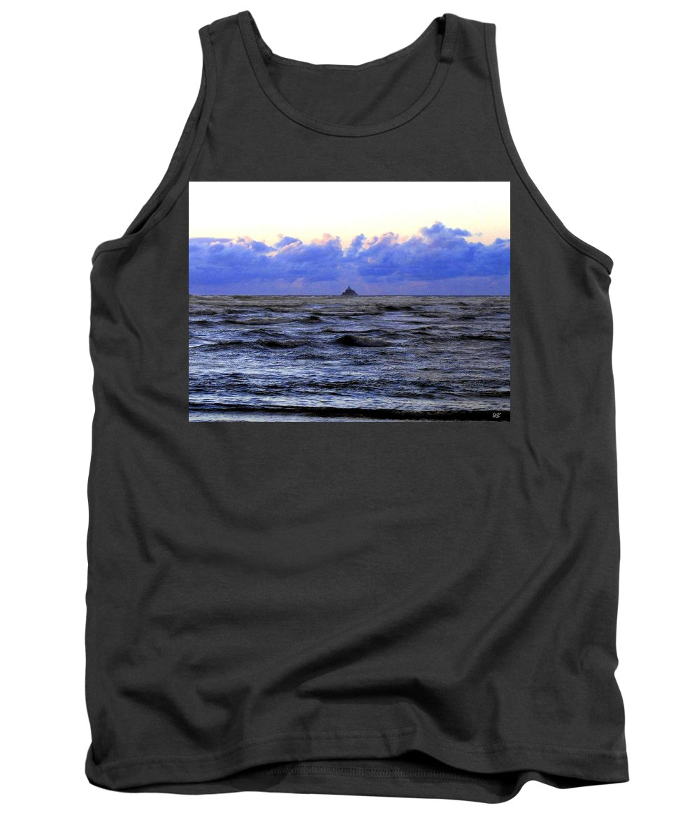 Lighthouse Tank Top featuring the photograph Tillamook Rock Lighthouse by Will Borden