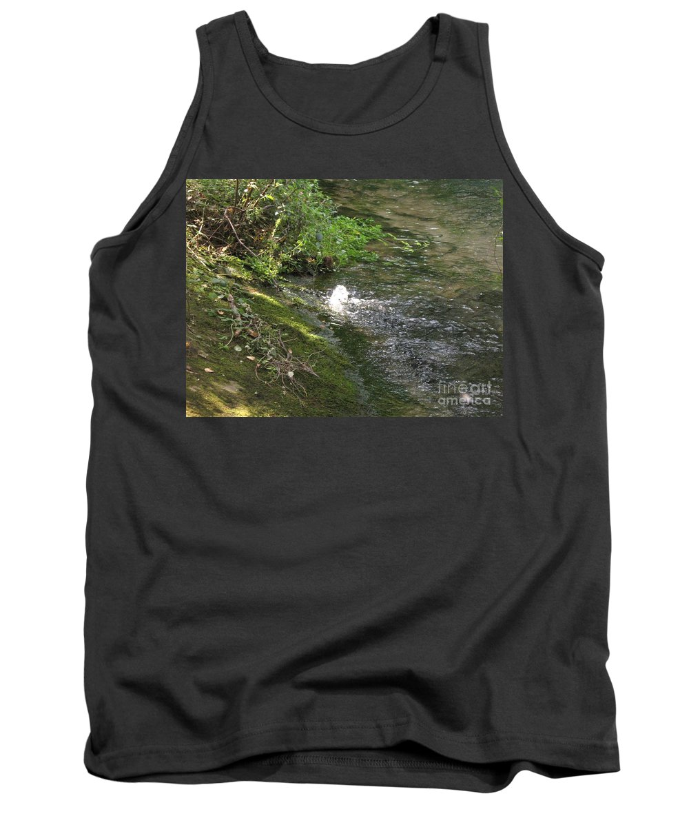 River Tank Top featuring the photograph Timava's Spring I by Dragica Micki Fortuna