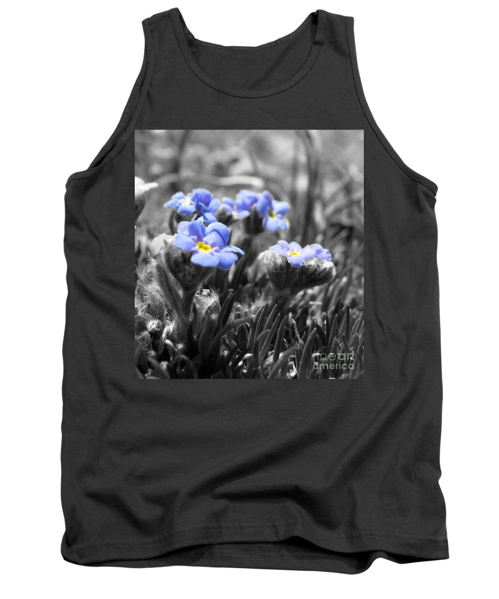 Flowers Tank Top featuring the photograph Tiny Gems by Amanda Barcon