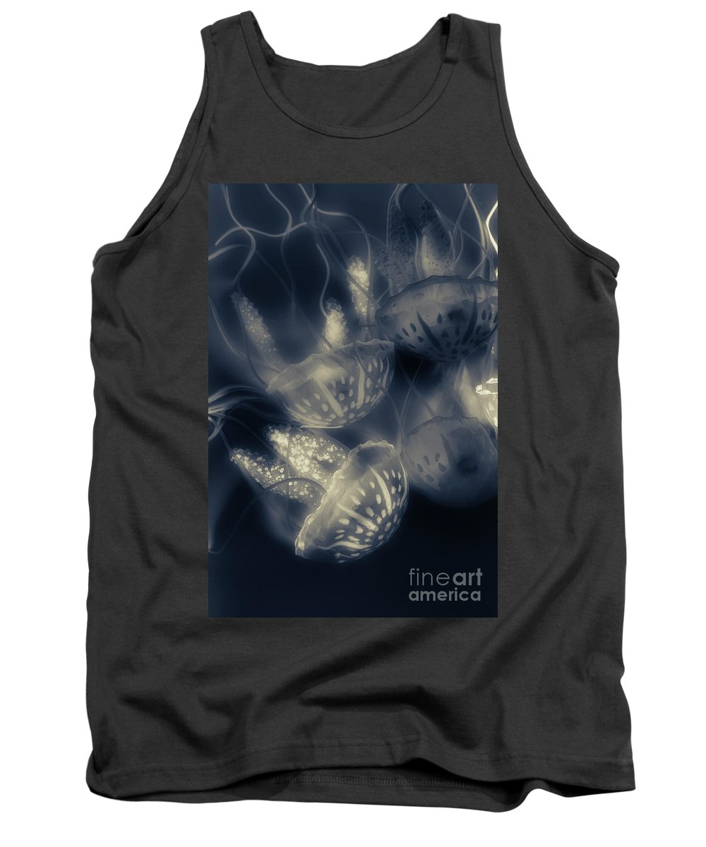 Oceanic Tank Top featuring the photograph Tonical Entangle by Jorgo Photography - Wall Art Gallery