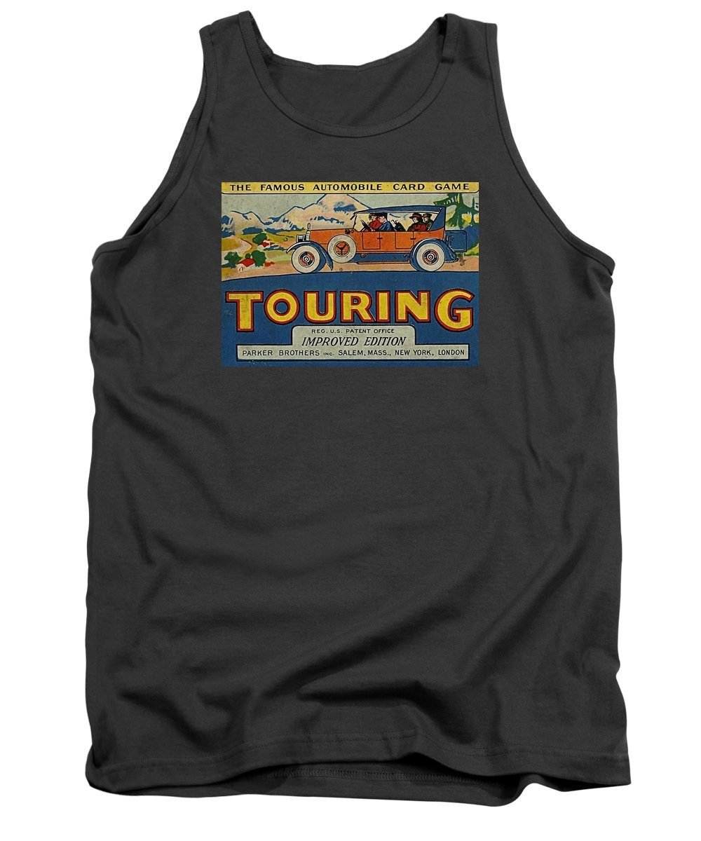 Touring Game Tank Top featuring the digital art Touring by Newwwman