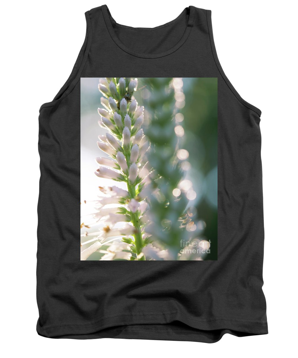 Ohio Flower Tank Top featuring the photograph Towering Flowers by Michelle Himes