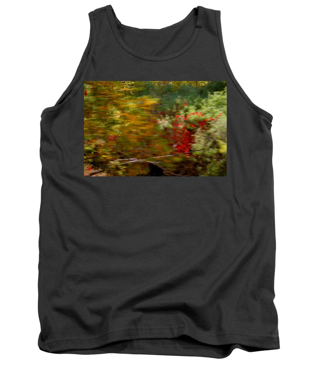 Mount Rushmore Tank Top featuring the photograph Train Ride Colors by Mike Oistad