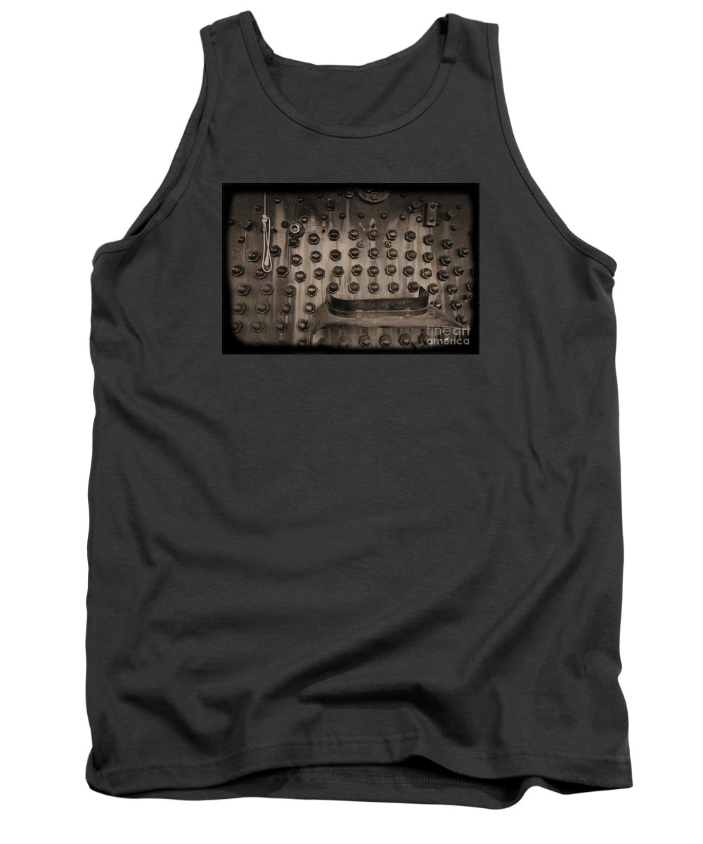 Train Tank Top featuring the photograph Trains 4 1 by Jay Mann