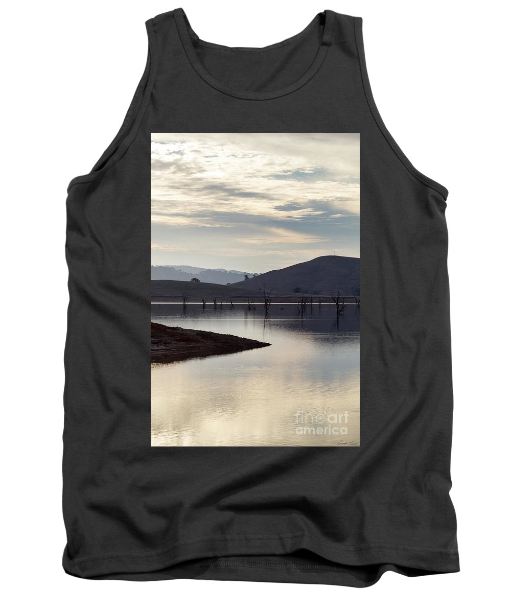 Lake Tank Top featuring the photograph Tranquil by Linda Lees