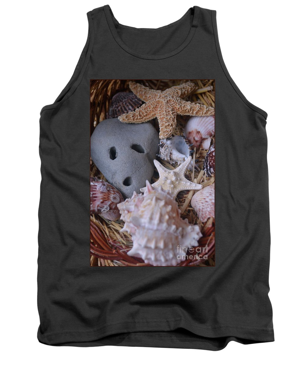 Sea Treasure Tank Top featuring the photograph Treasure by Luv Photography