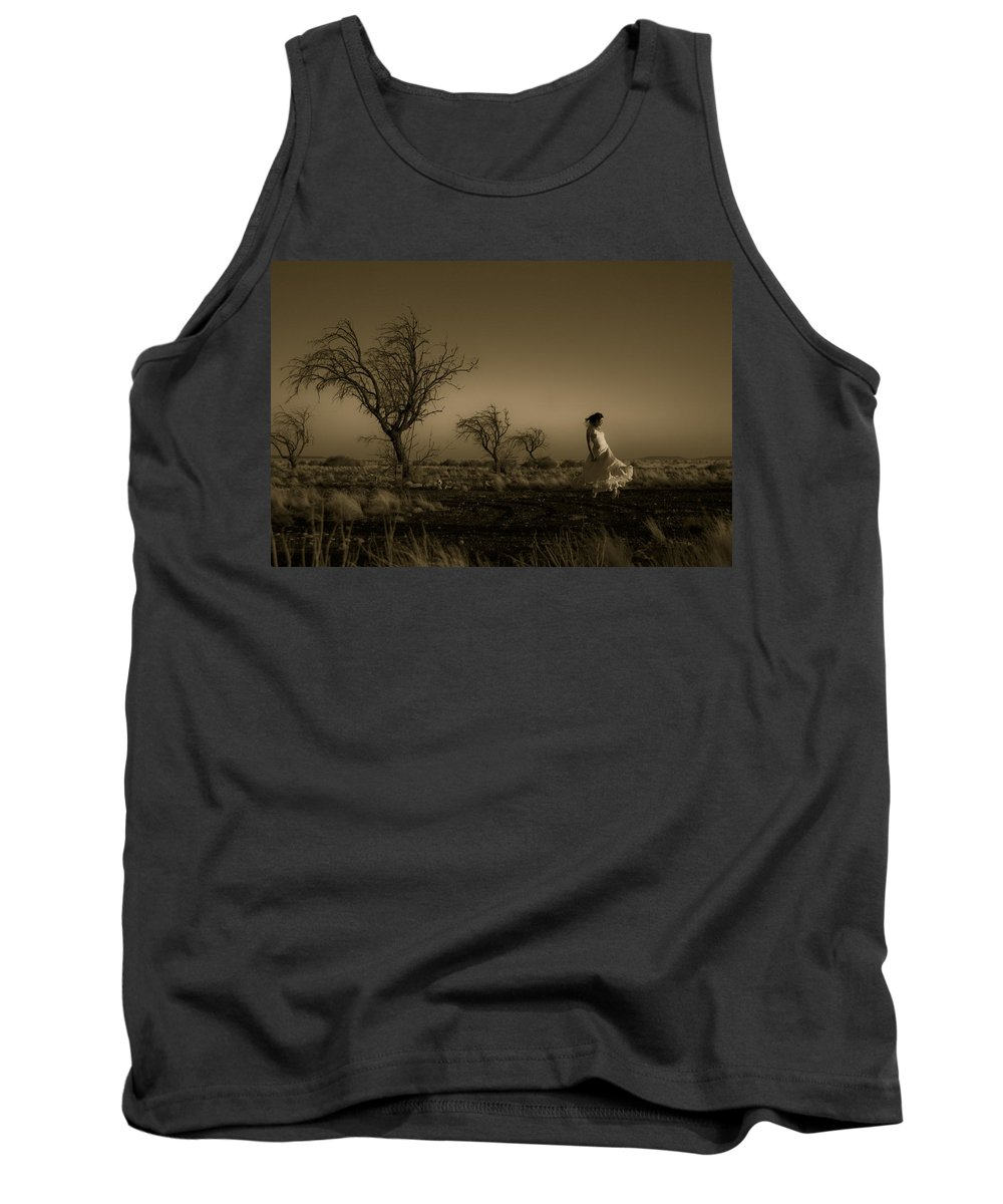Woman Tank Top featuring the photograph Tree Harmony by Scott Sawyer