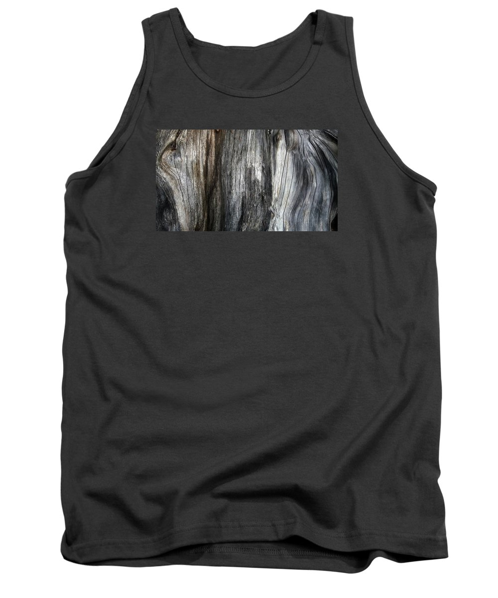 Tree Trunk Tank Top featuring the photograph Tree Trunk Abstract Detail by Nareeta Martin