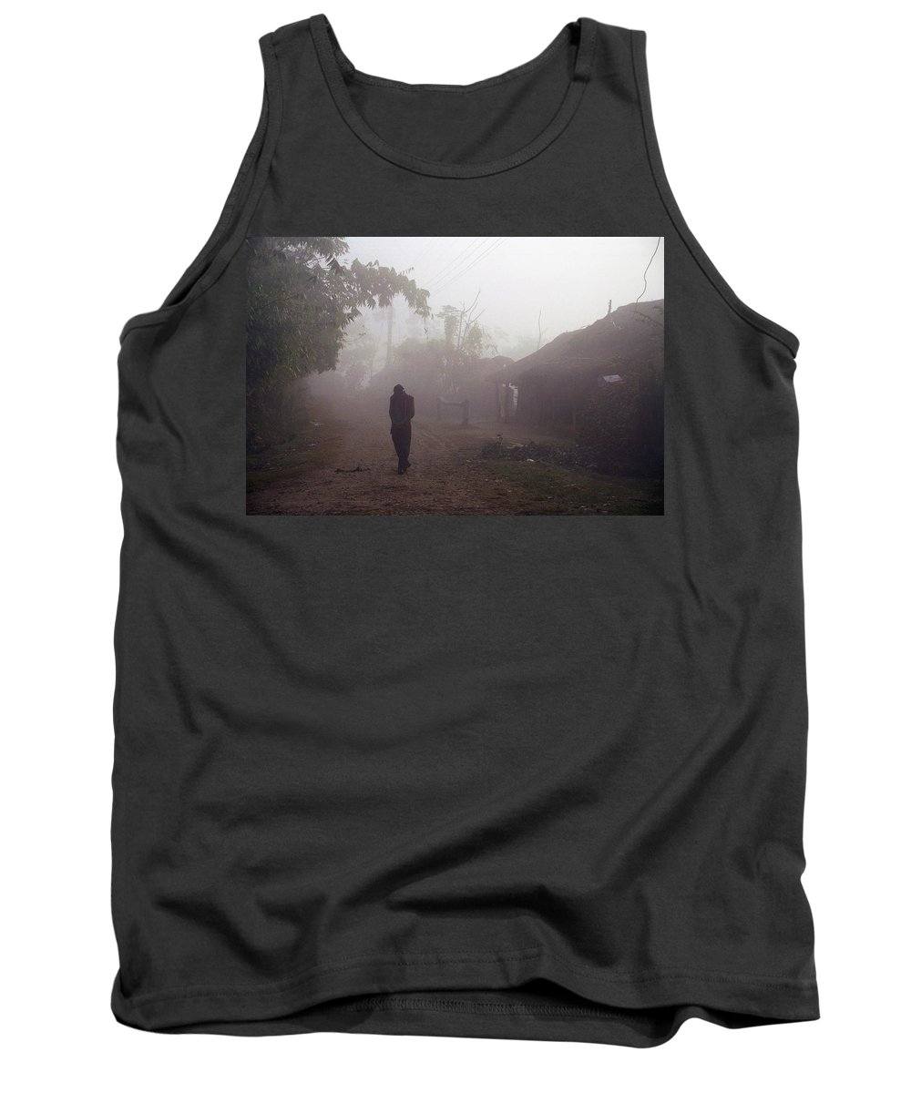 Nepal Tank Top featuring the photograph Tristesse by Patrick Klauss