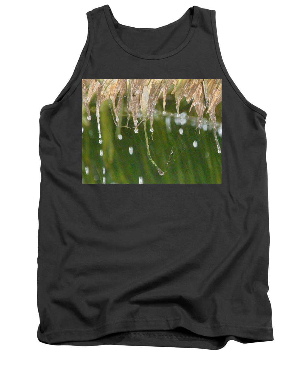 Bali Tank Top featuring the photograph Tropical Bali Rain by Mark Sellers