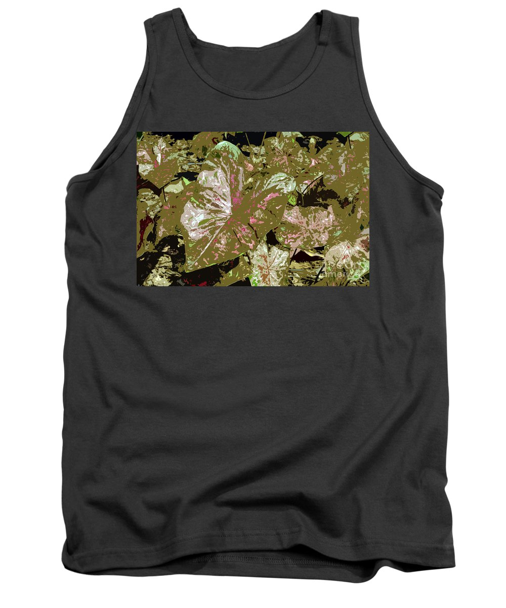 Tropical Tank Top featuring the photograph Tropicals by David Lee Thompson